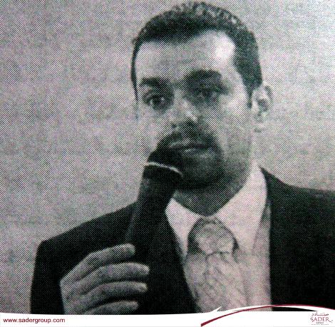 راني صادر حاضر حول عقود النشر في معرض الكتب الفرنكوفونية