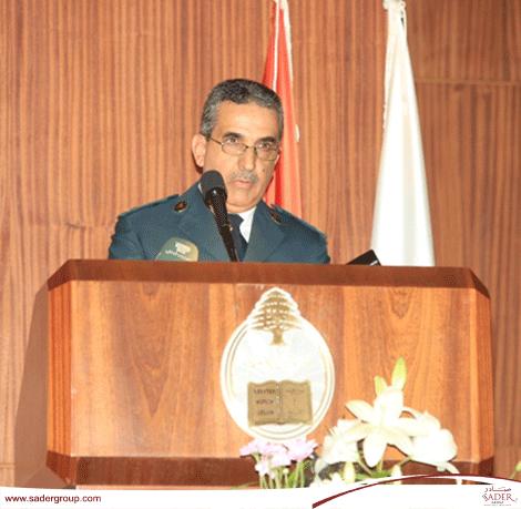 """""""العقيد الدكتور بشارة الخوري يوقع كتابه """"المحاكم الجزائية الإستثنائية - التداخل في الإختصاص"""