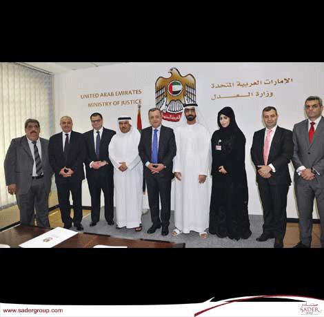زيارة دبي: لقاءات حكومية وخاصة وتبادل خبرات مع كبرى مكاتب المحاماة
