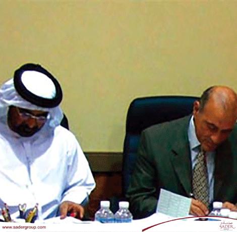 صادر توقع إتفاقية شراكة وتعاون مع وزارة العدل الإماراتية