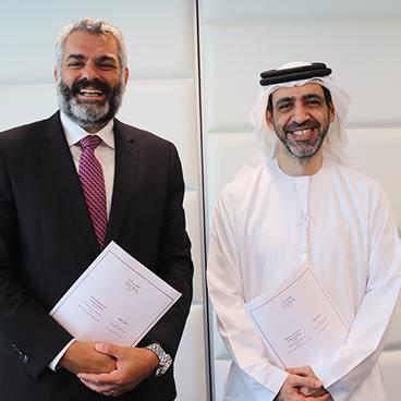 Signature of a Memorandum of Understanding between SADER and Horizons & Co